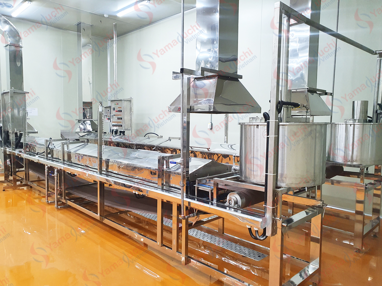 Rice Pho noodle making machine