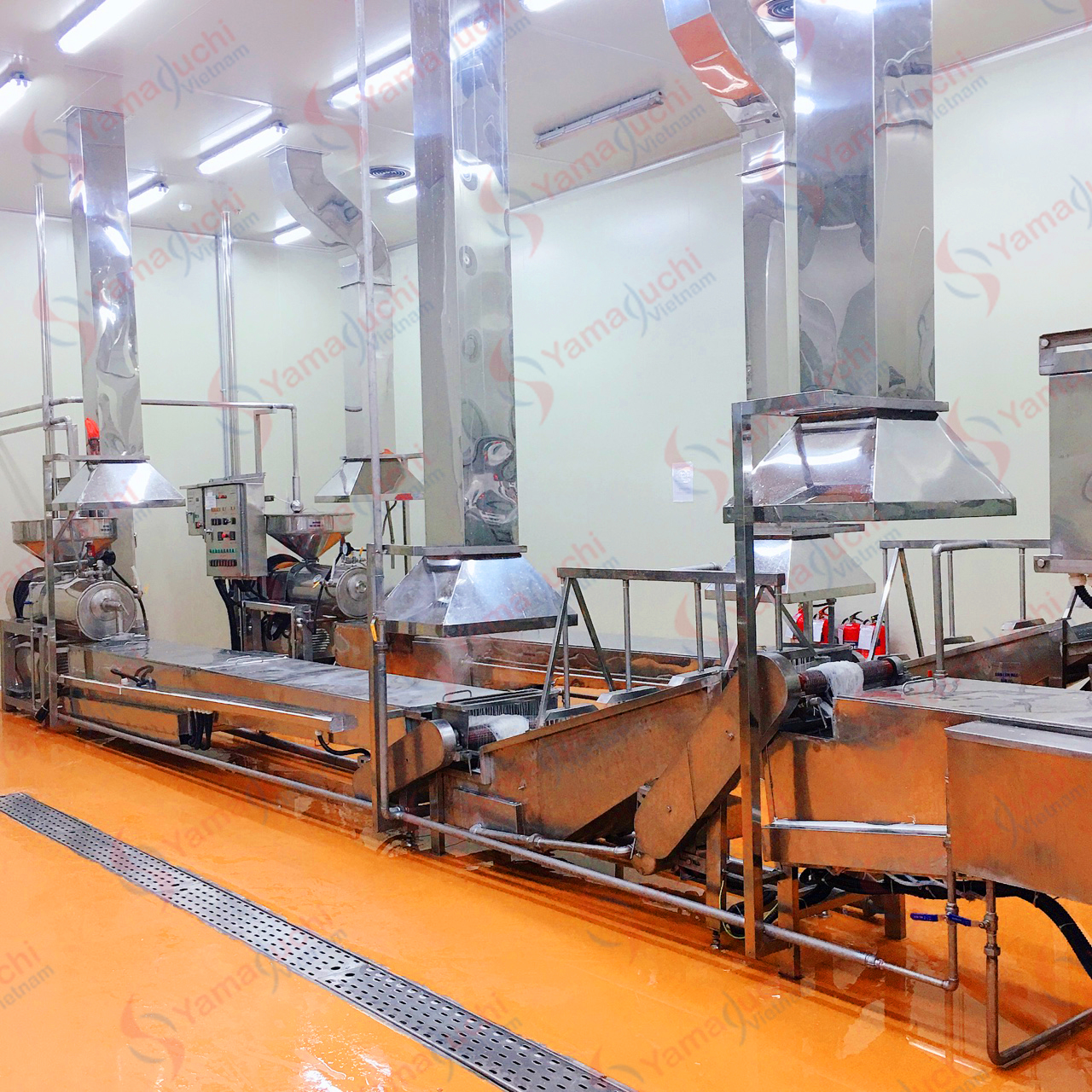 Automatic fresh rice vermicelli noodle production line