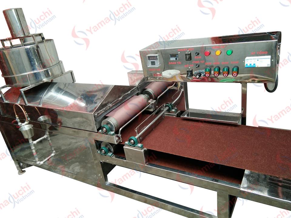 Vietnamese Steamed Rice Roll Machine